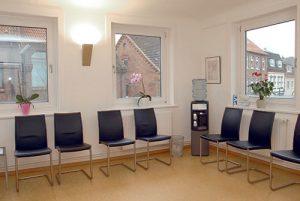 Wartezimmer - Urologische Praxis Dieckhoff